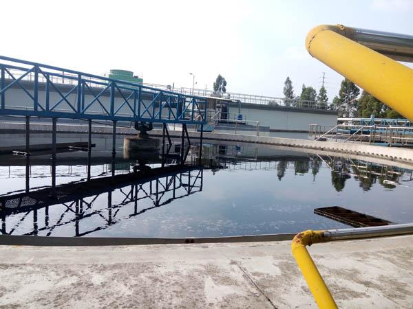 工业废水处理工程现场
