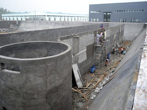 皮革污水处理工程建筑
