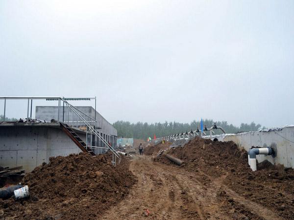 工业废水处理工程施工