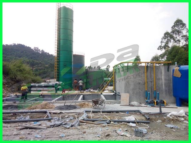 高浓度废水处理工程设备安装
